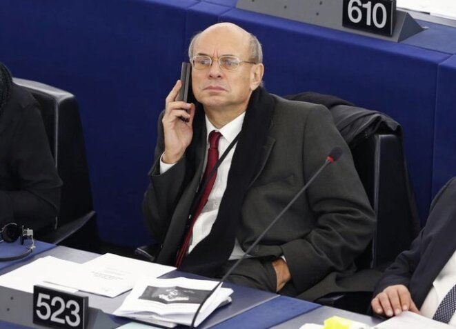 L'eurodéputé Jean-Luc Schaffhauser. © Reuters
