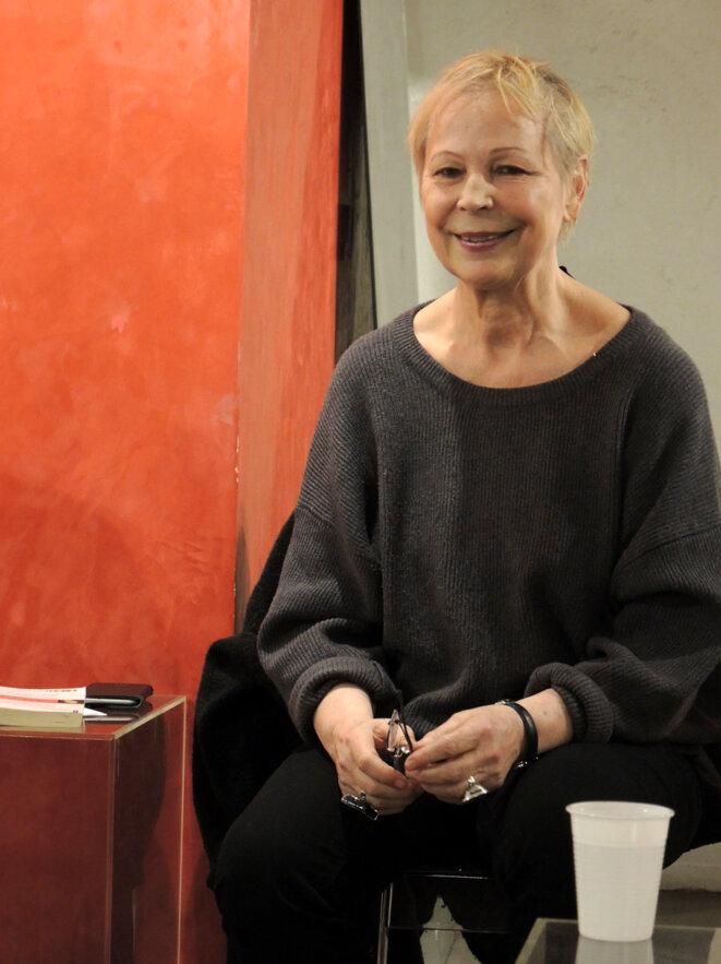 Lydie Salvayre, Paris 17 novembre 2017 © Gilles Walusinski
