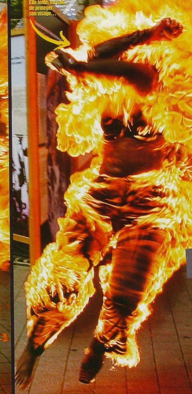 Maggy, la femme qui brûle