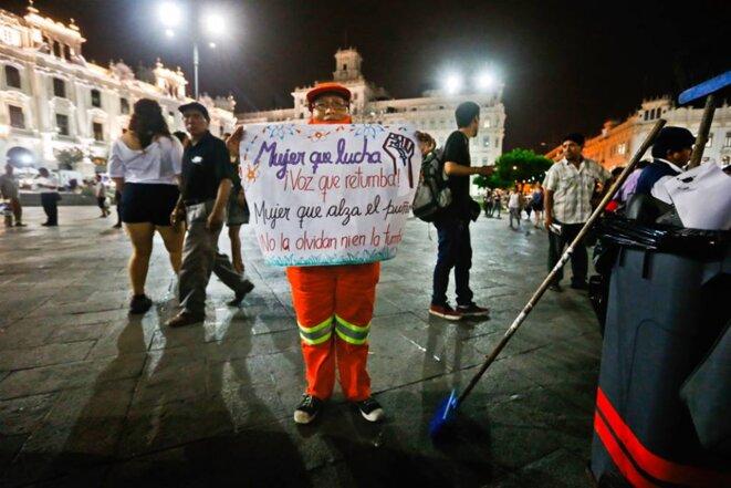 8 de marzo, Lima
