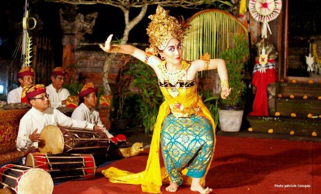 Indonésie Bali danse du Legong Keraton © Patrick Compas