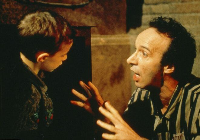 Roberto Benigni dans « La vie est belle » (1997), Grand Prix du Jury au Festival de Cannes en 1998.