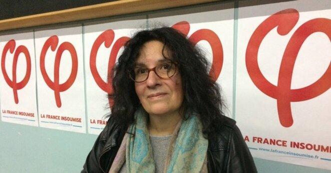 Nancy, une militante venue de Boulogne-sur-Mer. © (MJ)
