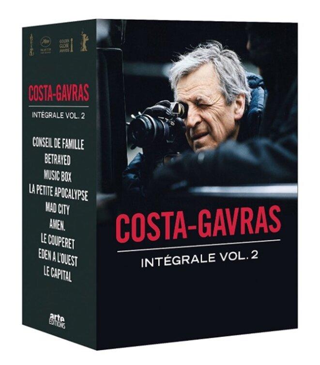 Costa-Gavras, l'intégrale, volume 2, un coffret Arte