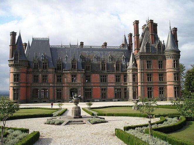 The château de Trévarez in Finistère in western France. © DR
