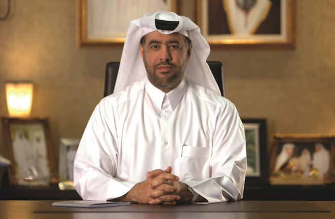 Ghanim bin Saad al-Saad, jefe del grupo GSSG y ex director general del fondo soberano Qatari Diar. © D.R.