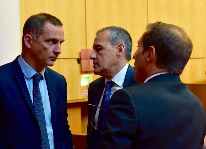 Gilles Simeoni et Jean-Guy Talamoni. © Facebook/Gilles Simeoni