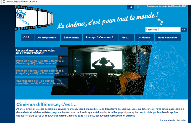 http://www.cinemadifference.com/ © Ciné-ma différence