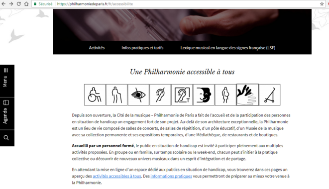 https://philharmoniedeparis.fr/fr/accessibilite © Philarmonie de Paris