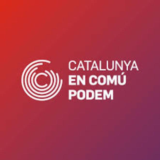 Logo officiel de la coalition © Catalunya en Comú-Podem