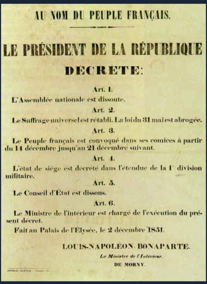 Coup d'Etat du 2 décembre 1851 © Pierre Reynaud