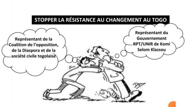 Stopper la résistance au changement au Togo © Yves Ekue Amaïzo