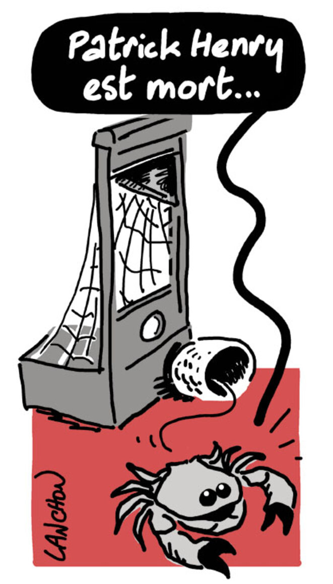 Patrick Henry est mort © Agnès Lanchon
