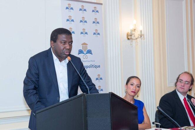 Ibrahime Sorel Keita , Vice président du Club Géopolitique © thierry paul valette
