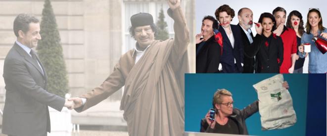 """Choisissez parmi ces images celle qui selon vous évoque le mieux """"la honte de la république""""."""