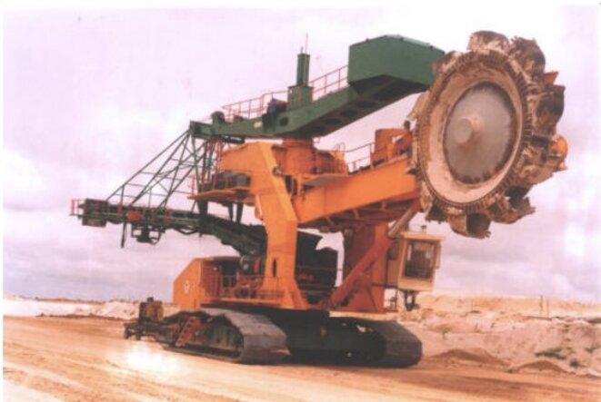 Mine de phosphates des Industries chimiques du Sénégal (ICS).