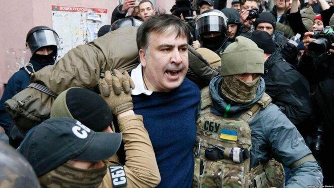 Arrestation de Saakachvili © Prise d'écran
