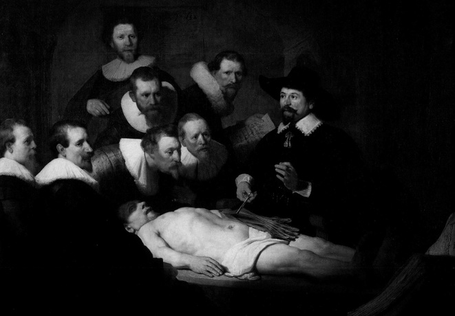 © Rembrandt, La leçon d'anatomie du Docteur Tulp (1632)