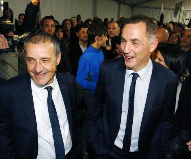Jean-Guy TALAMONI et Gilles SIMEONI
