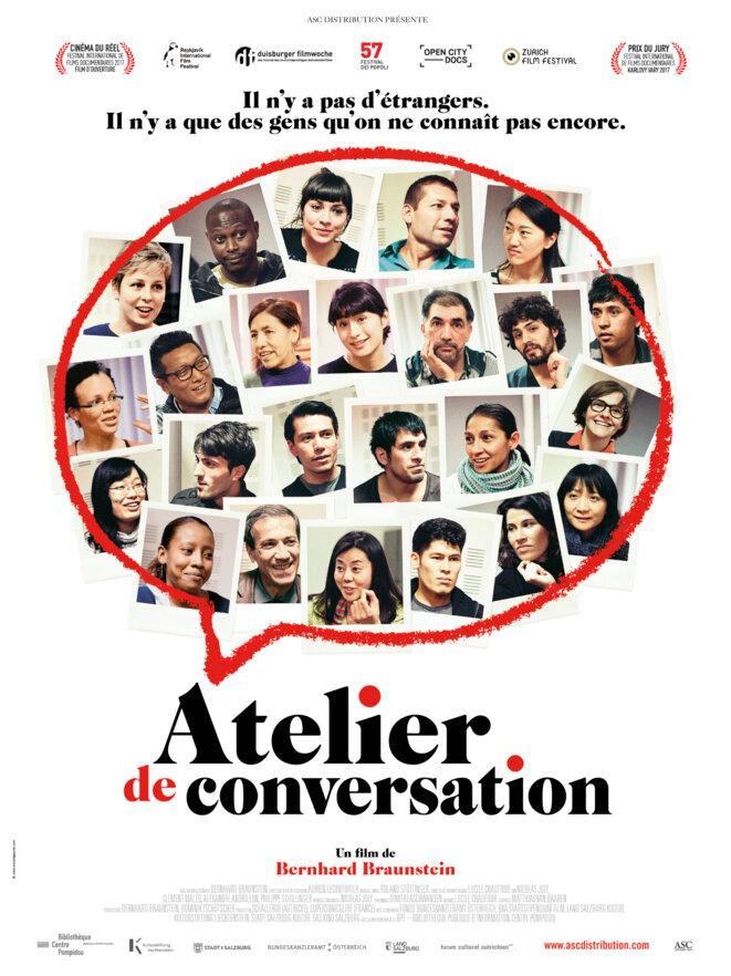 Affiche du film ATELIER DE CONVERSATION distribué par ASC Distribution