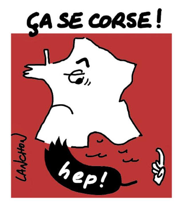La Corse interpelle le gouvernement français © Agnès Lanchon