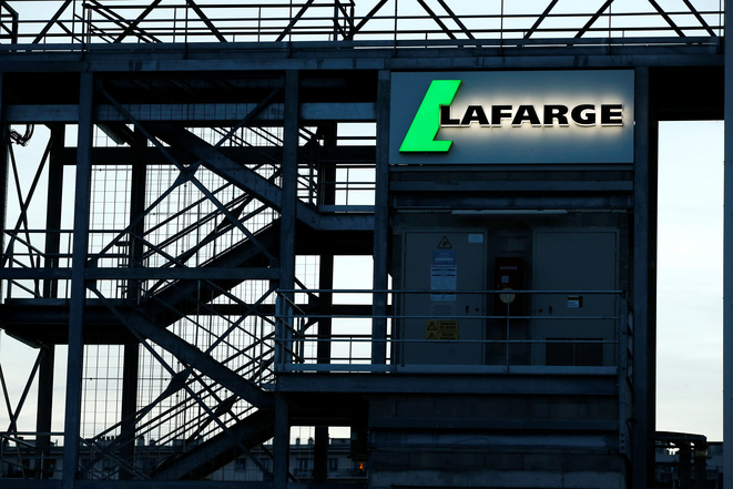 A Lafarge industrial plant in Paris. © Reuters