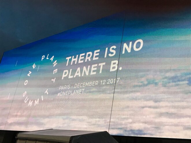 Sommet de Paris sur le climat ce matin © K.Georgieva