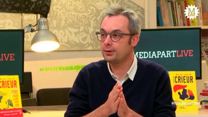 Entretien avec Ivan Fouquet, de l'Atelier citoyen. © Mediapart