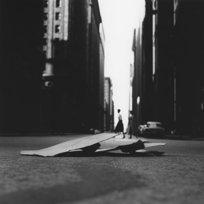 "Ray K. Metzker, ""Chicago loop"", 1958, photographie, Galerie Les Douches, Paris © Ray K Metker"