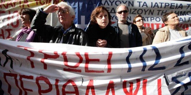 La résistance des soignant-e-s grec-que-s