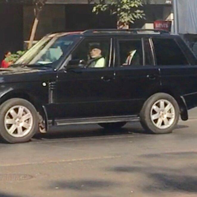 L'arrivée du premier ministre © GD