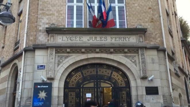 Le lycée Jules Ferry, dans le IXème arrondissement de Paris