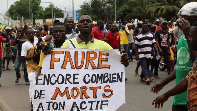 Un peuple togolais courageux qui n'est pas dupes des véritables intentions de Faure Gnassingbé