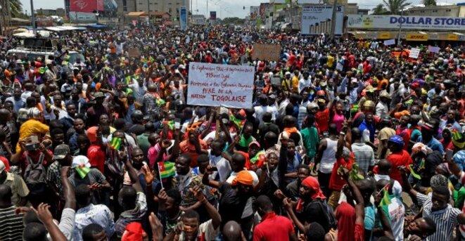 Une mobilisation qui ne faiblit pas dans les manifestations depuis le 19 août 2017