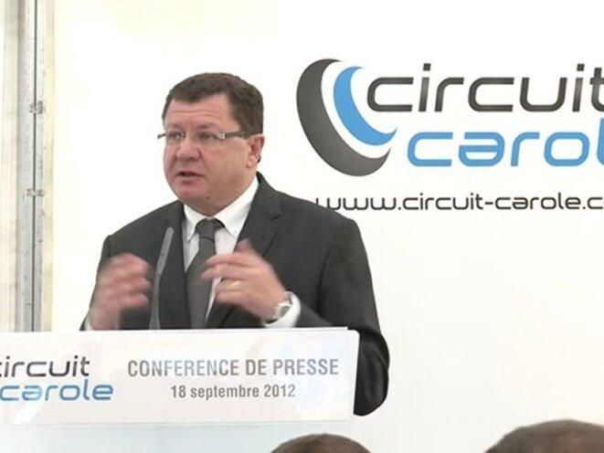 Jacques Bolle, président de la fédération de motocyclisme © ffmoto.org