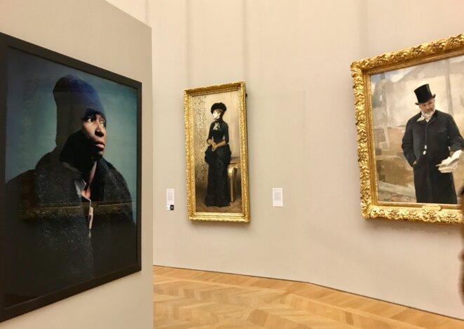 Vue de l'exposition Andres Serrano au Petit-Palais, Musée des Beaux-arts de la ville de Paris © Guillaume Lasserre