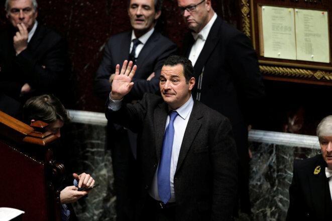 Le député Jean-Frédéric Poisson, le 29 novembre 2016, à l'Assemblée nationale. © Benoit Tessier/Reuters