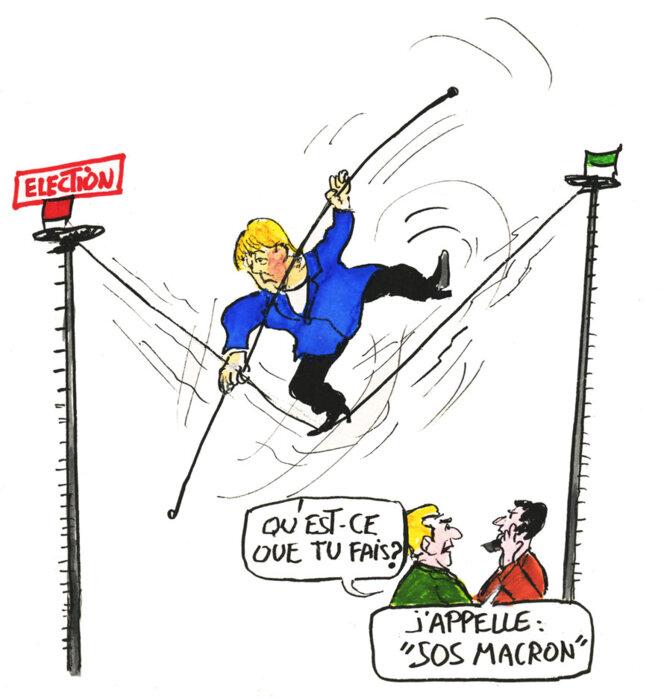 Angela Merkel © Calvi