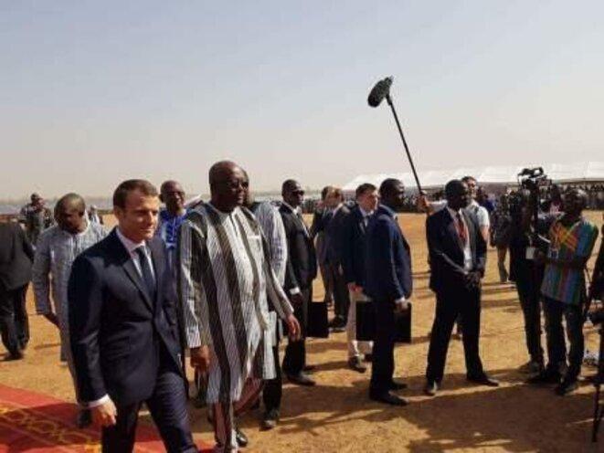 Macron au Burkina Faso
