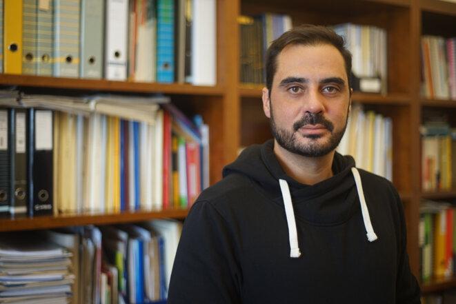 Miguel Tiago, député du PCP, le parti communiste portugais. © AP