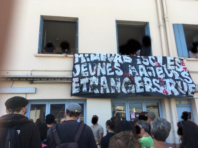 Le collectif AutonoMIE a réquisitionné le 12 octobre un hôtel désaffecté appartenant à Toulouse Métropole