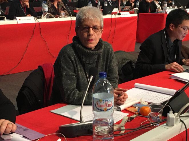 Yolande Guinle, conseillère régionale PCF des Hautes-Pyrénées © Julien Sueres