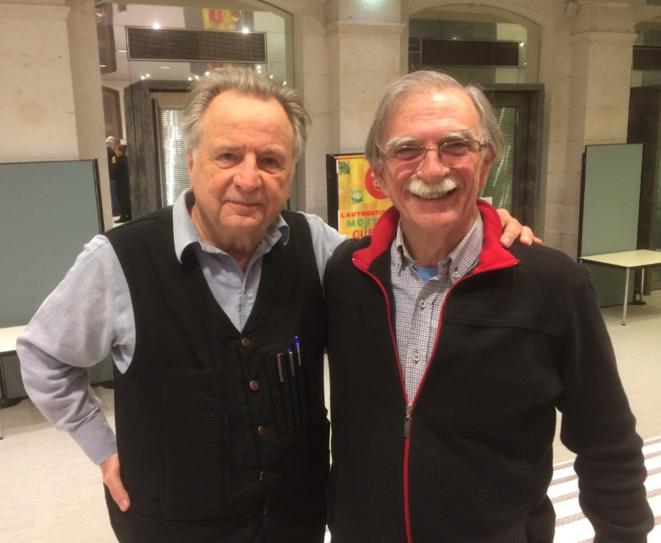 Régis Debray et Juan Martin Guevara