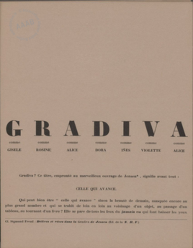 Tract d'André Breton ( 1937 )                      http://www.andrebreton.fr/work/56600100543860