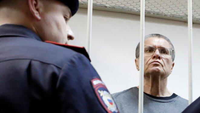 Alexeï Oulioukaev, ancien ministre du développement économique, condamné à huit ans de prison. Il a fait appel de ce jugement. © Reuters