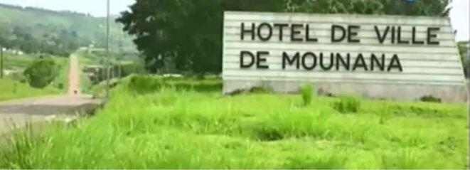 GABON-VILLE DE MOUNANA AU SUD-EST DU GABON