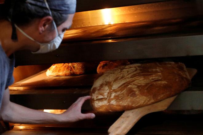 Dans une boulangerie à Paris en novembre 2017 © Reuters / Philippe Wojazer.