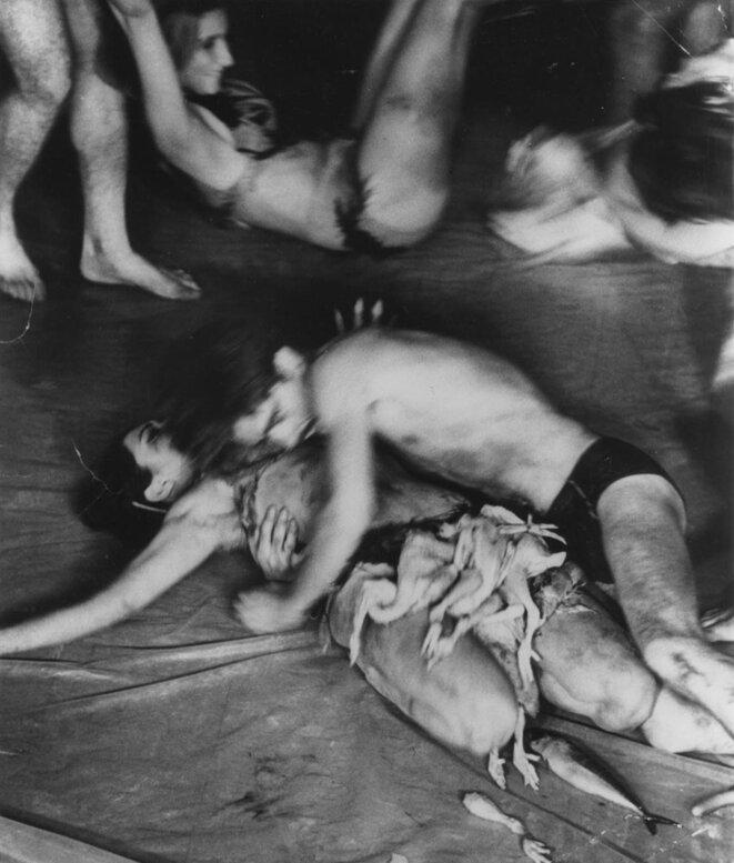 Meat Joy (1964) © Carolee Schneemann