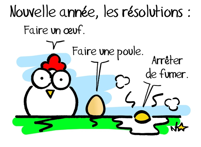 Nouvelle année, les résolutions... © Norb