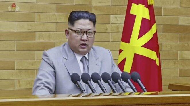 Kim Jong-Un : «Il y a toujours un bouton nucléaire sur mon bureau»